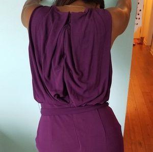 RACHEL Rachel Roy Dresses - Rachel Roy Plum Jersey size 6 sleeveless dress